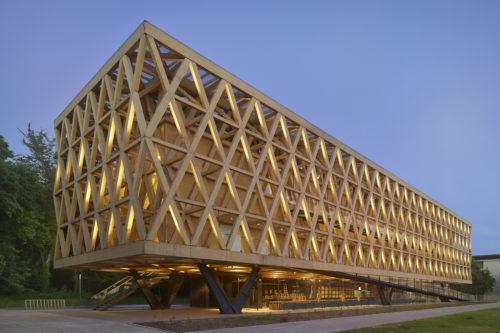 nowoczesna architektura drewniana