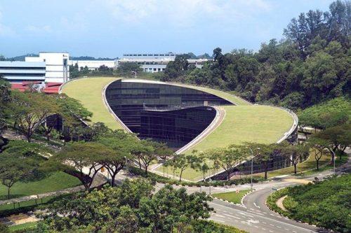 Uniwersytet Techniczny Nanyang (Singapur). CPG Consultants. Źródło: http://www.bryla.pl